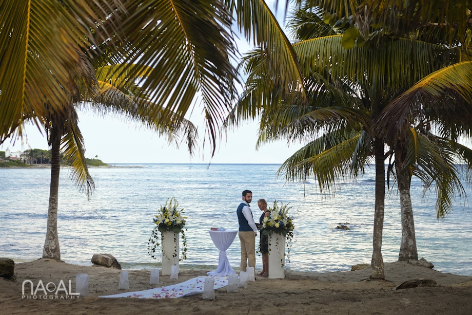 Beach wedding at Paamul -  - IMG 7583