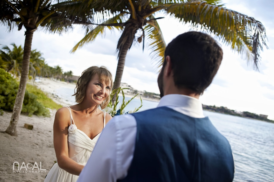Beach wedding at Paamul -  - IMG 7618