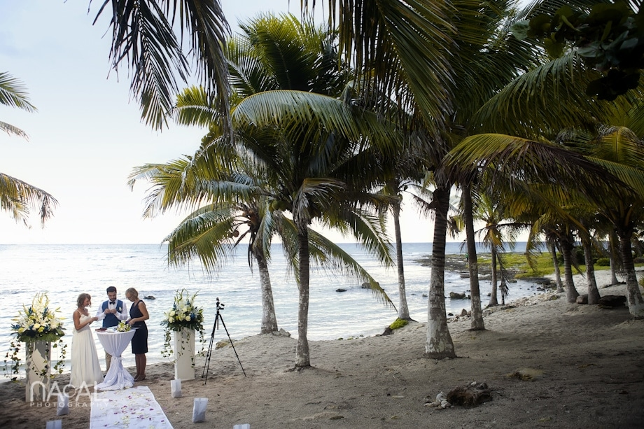 Beach wedding at Paamul -  - IMG 7649