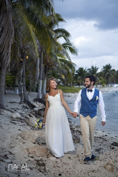 Beach wedding at Paamul -  - IMG 7776