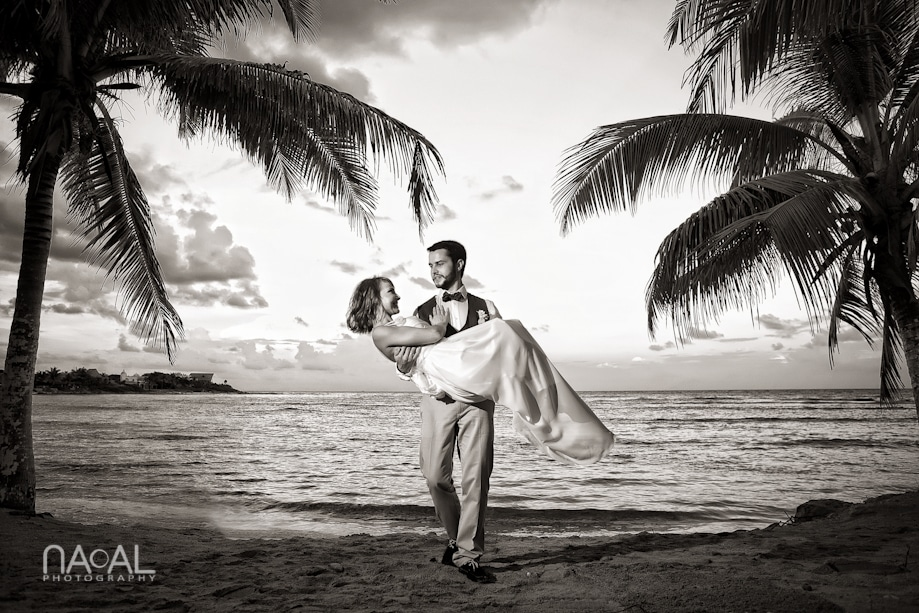 Beach wedding at Paamul -  - IMG 7913
