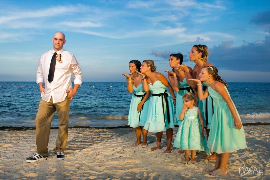 Dreams Riviera Cancun Wedding -  - Naal Wedding Photography 324