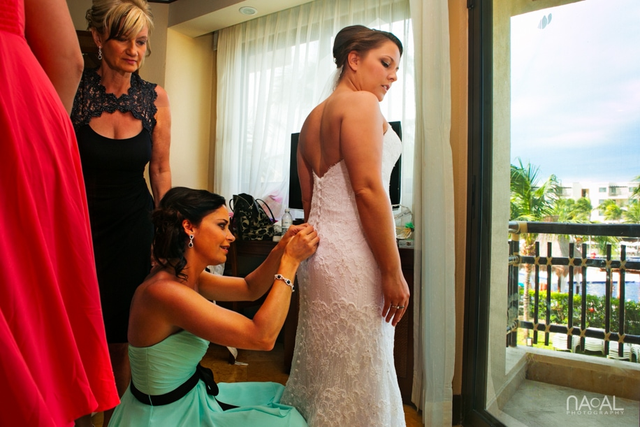 Dreams Riviera Cancun Wedding -  - Naal Wedding Photography 75