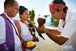 Mayan-ceremony-beach-wedding-shaman-riviera-maya -  - Mayanceremony01
