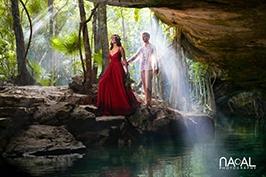 Cenote-trash-dress-sunlight-amazing-picture -  - ttd01