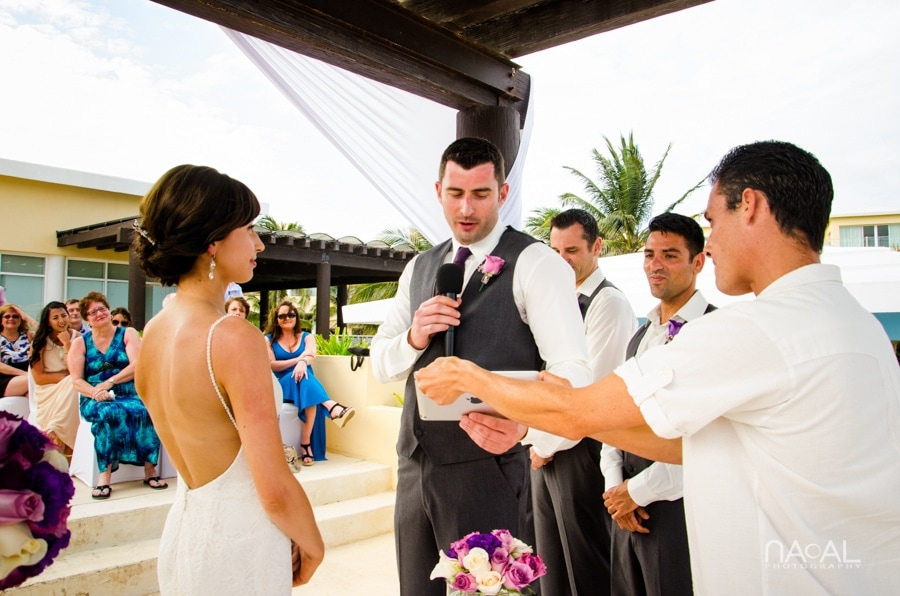 Now Jade Riviera Cancun -  - Naal wedding Photography 12