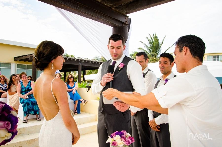 Now Jade Riviera Cancun -  - Naal wedding Photography 12
