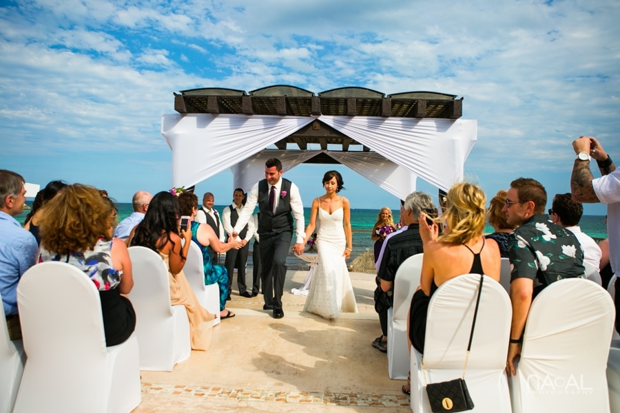 Now Jade Riviera Cancun -  - Naal wedding Photography 18