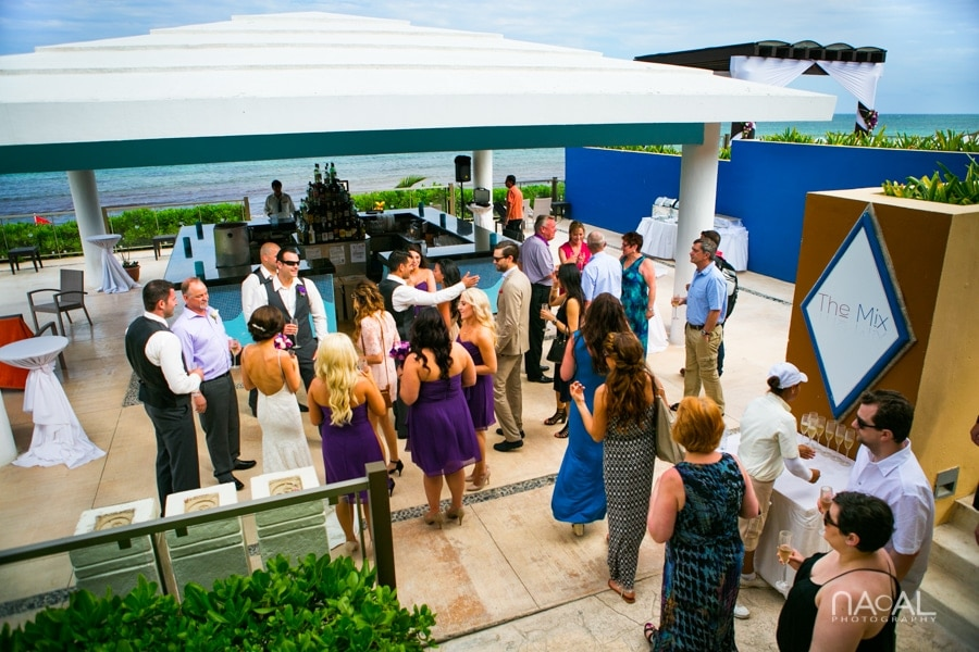 Now Jade Riviera Cancun -  - Naal wedding Photography 22