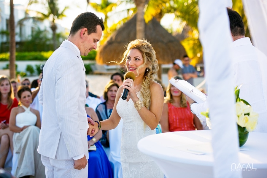 Diego & Theresa -  - Excellence Playa Mujeres cancun 16