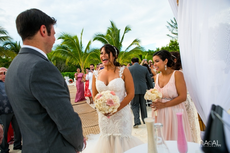 Monica & Neil -  - grand coral beach club wedding 10
