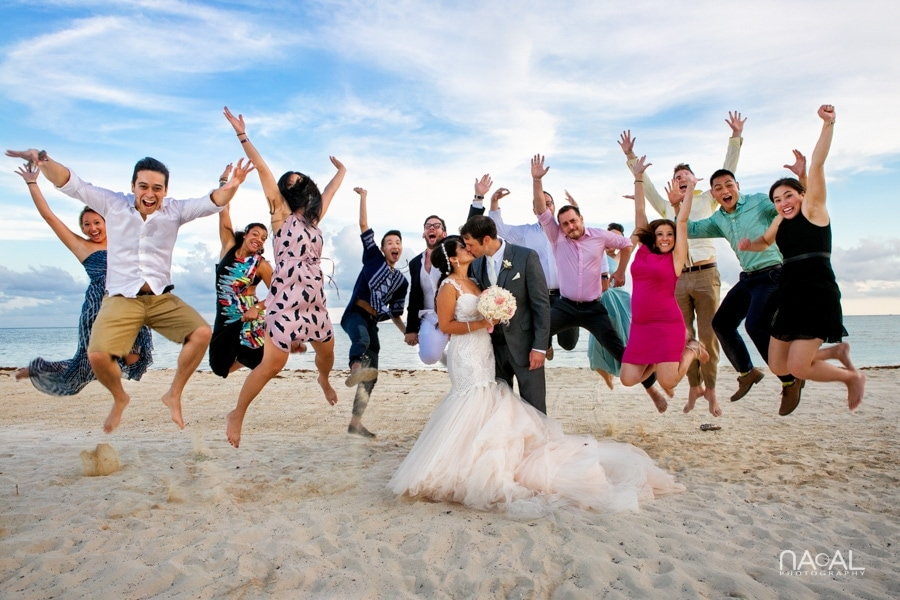 Monica & Neil -  - grand coral beach club wedding 16