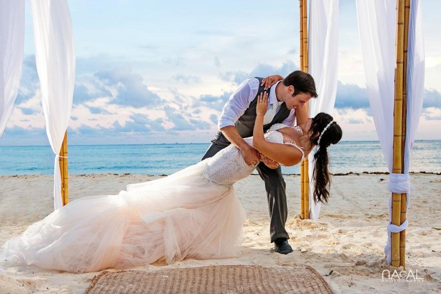 Monica & Neil -  - grand coral beach club wedding 21