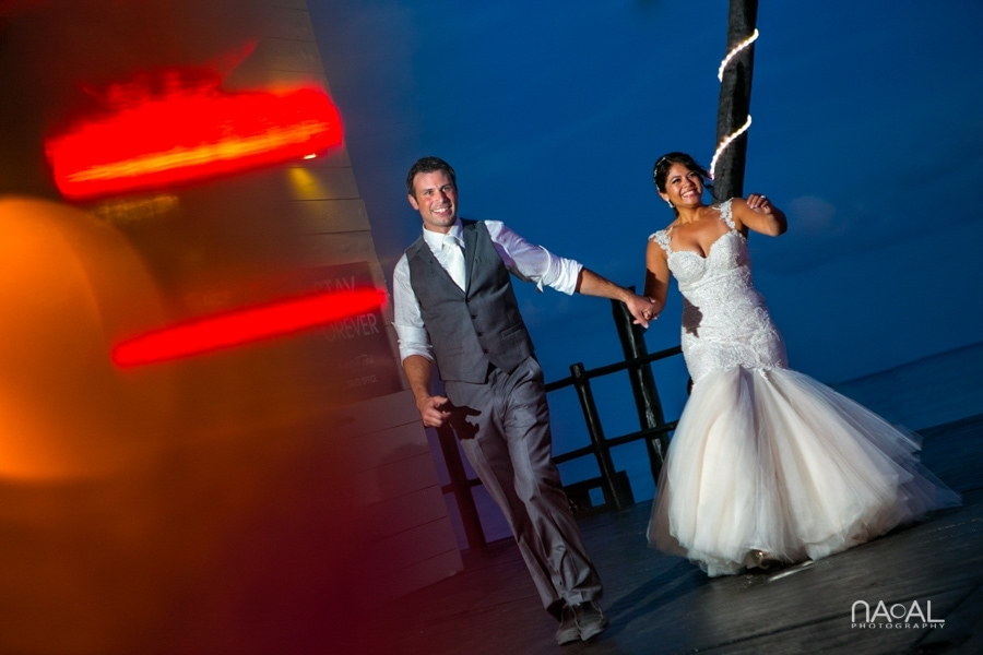 Monica & Neil -  - grand coral beach club wedding 22