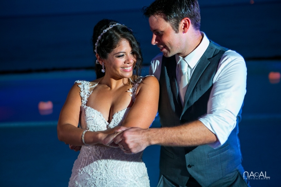 Monica & Neil -  - grand coral beach club wedding 23