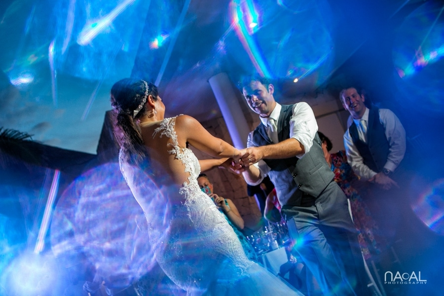 Monica & Neil -  - grand coral beach club wedding 24