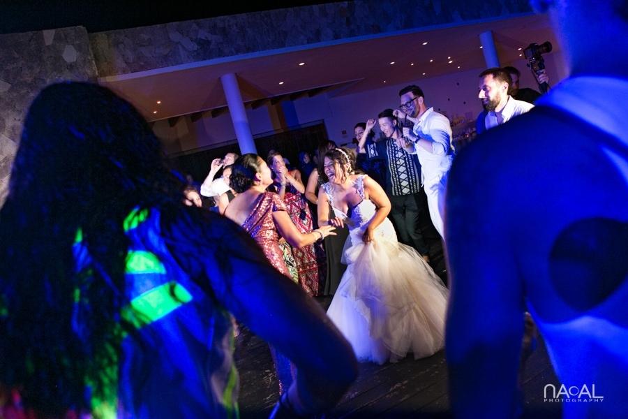 Monica & Neil -  - grand coral beach club wedding 32