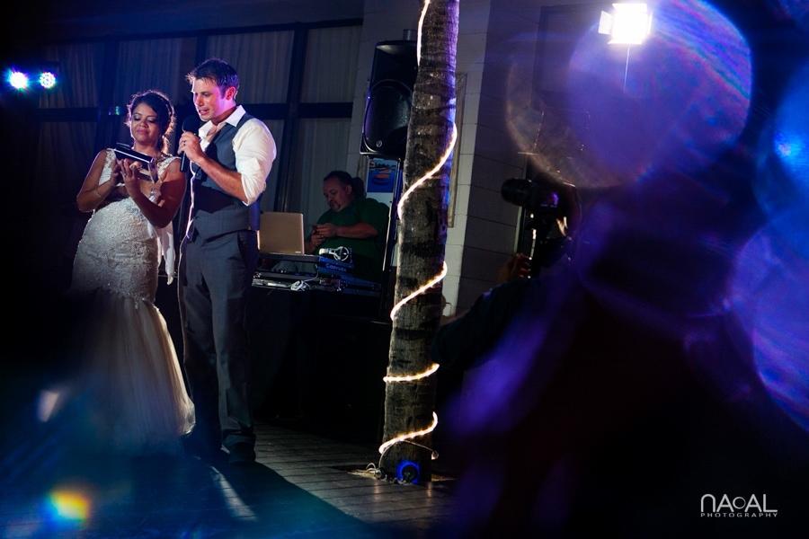 Monica & Neil -  - grand coral beach club wedding 33