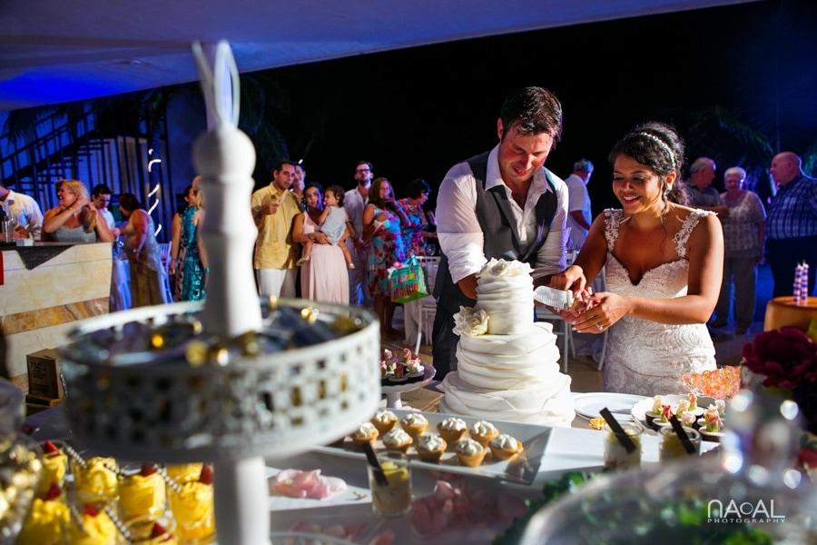 Monica & Neil -  - grand coral beach club wedding 34