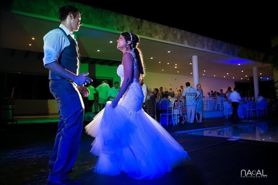 Monica & Neil -  - grand coral beach club wedding 37