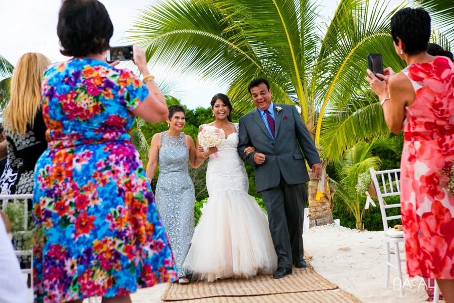 Monica & Neil -  - grand coral beach club wedding 9