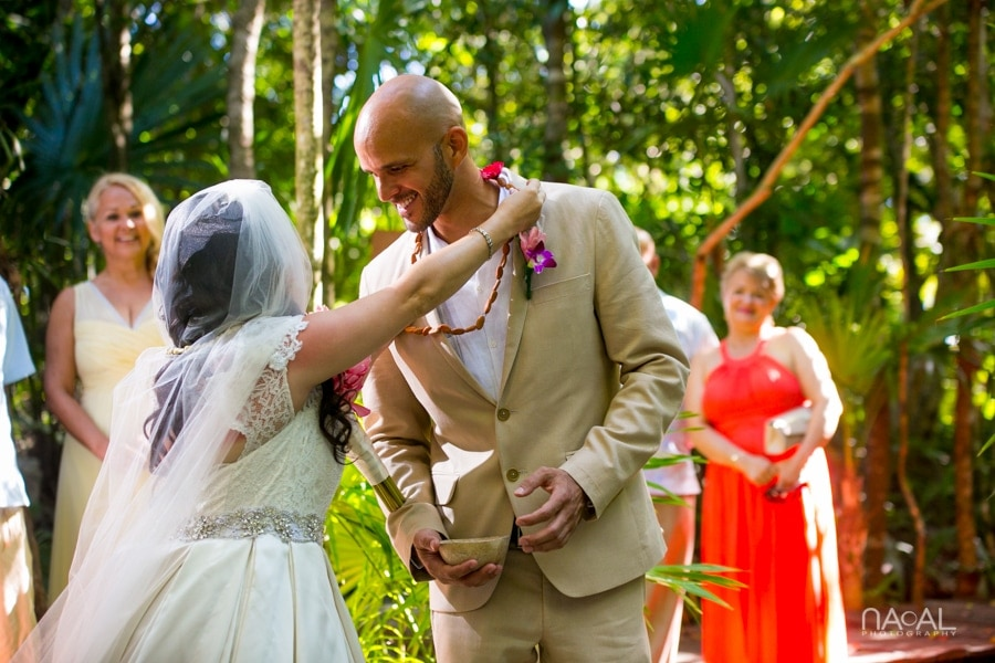 Intimate Cenote Mayan Wedding -  - Naal Wedding 48