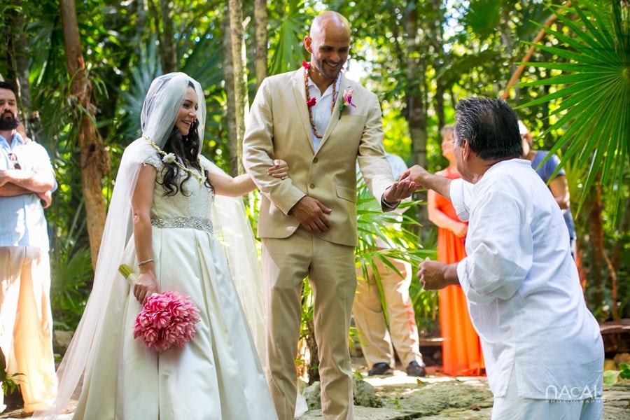 Intimate Cenote Mayan Wedding -  - Naal Wedding 65