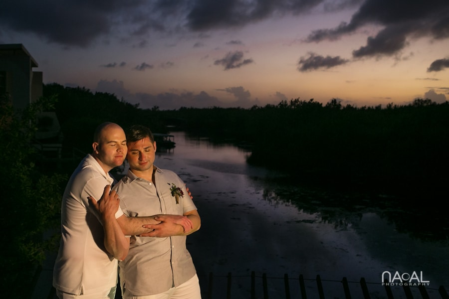 LGBT Elopement  Rosewood Mayakoba -  - Naal Wedding Photo 44