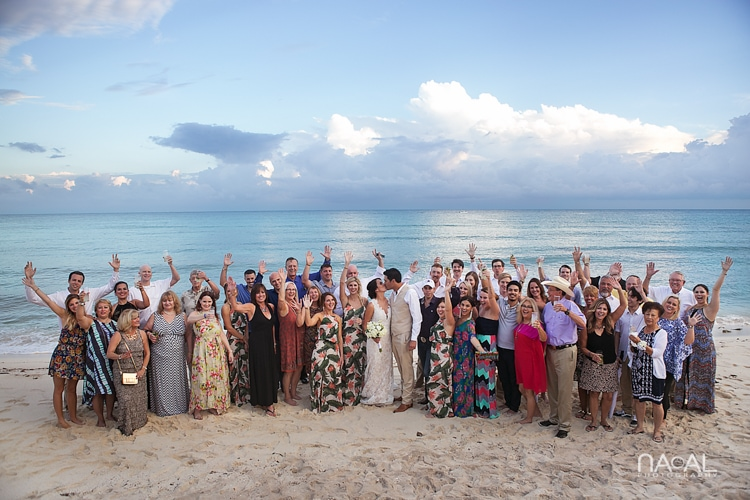 Blue Venado Beach Club -  - Naal Wedding Photo 185