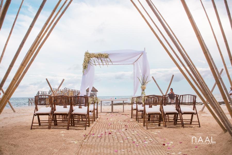 Intimate Mayan Palace Wedding. Naal Wedding Photography