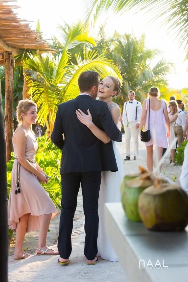 Blue Venado beach Club by Naal Wedding Photography