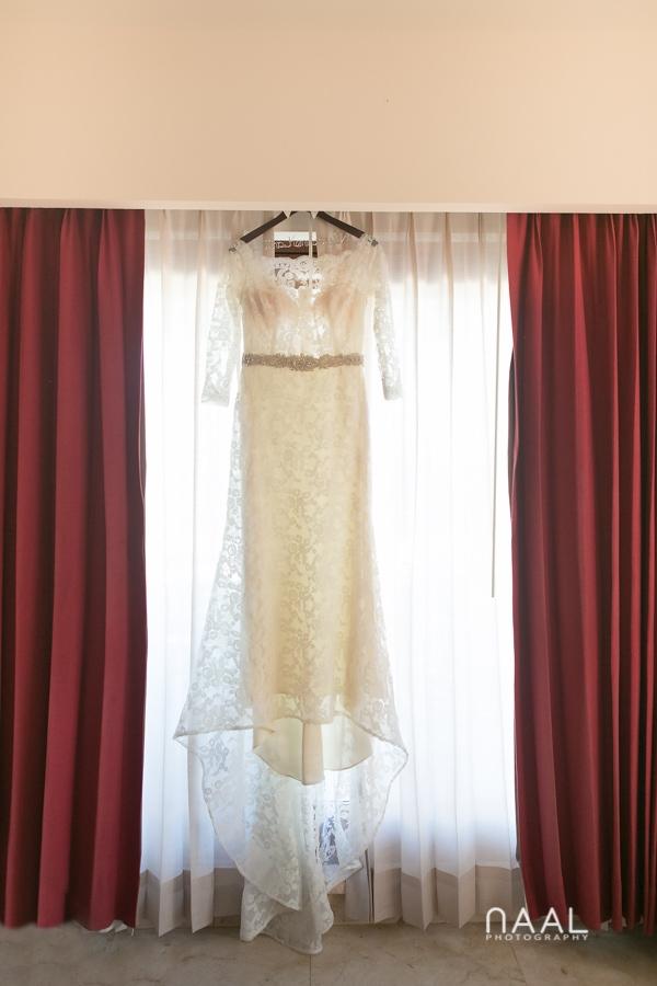 Wedding dress, Belmond Maroma by Naal Wedding Photography