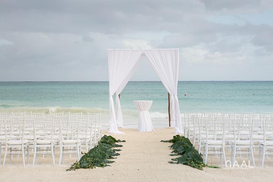 Gazebo. Belmond Maroma by Naal Wedding Photography