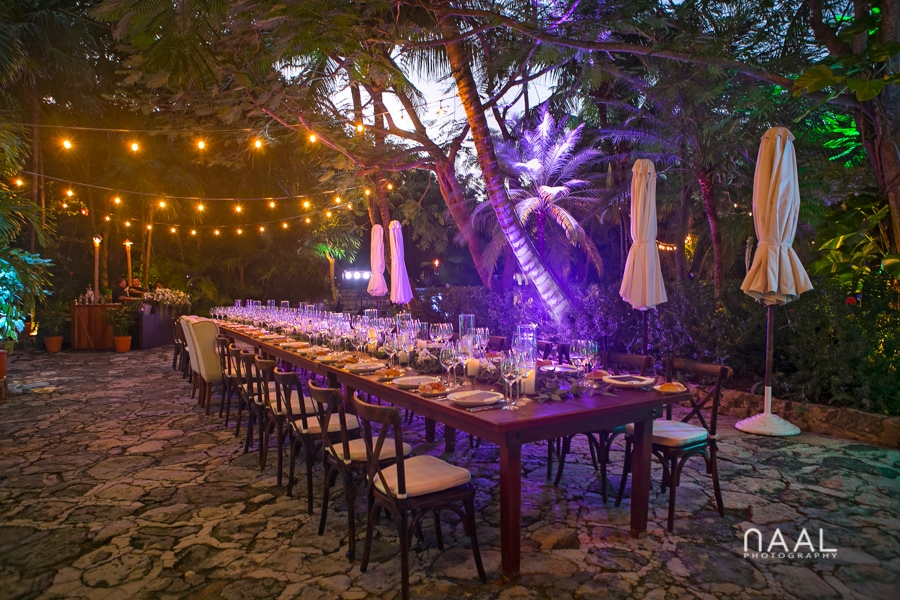 Reception area. Belmond Maroma by Naal Wedding Photography
