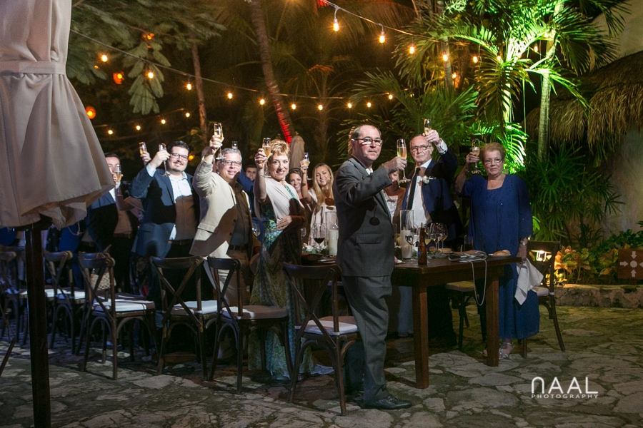 Reception. Belmond Maroma by Naal Wedding Photography