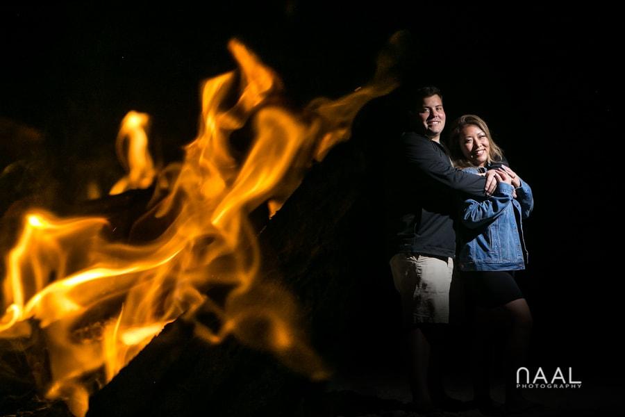 Bonfire. Belmond Maroma by Naal Wedding Photography