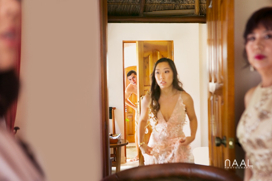 Getting ready. Belmond Maroma by Naal Wedding Photography