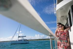 wedding fun day, catamaran, Naal Wedding Photography