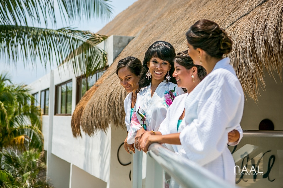 getting ready Le Rêve Hotel Naal Wedding Photography