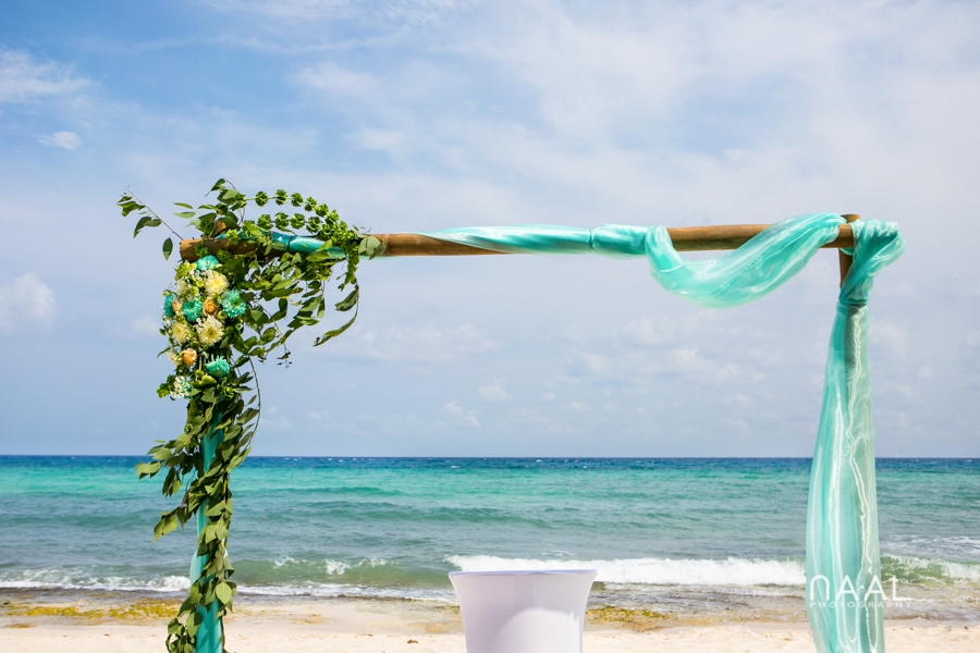 Maribel & Steve -  - Expected beach destination wedding at Le Reve 36