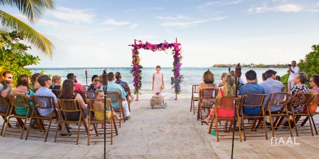 Villa Bellamar beach destination wedding by Naal Wedding Photography