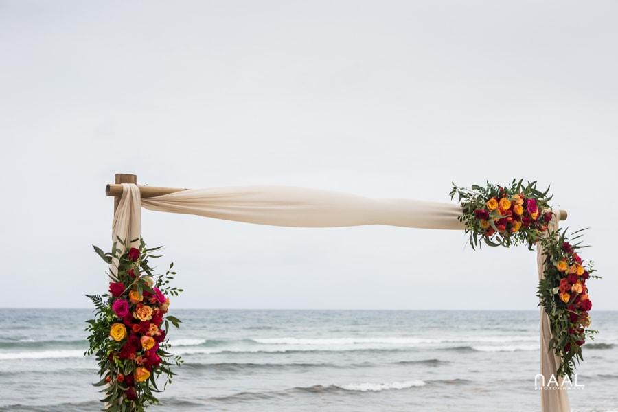 Blue Venado Beach Club wedding gazebo