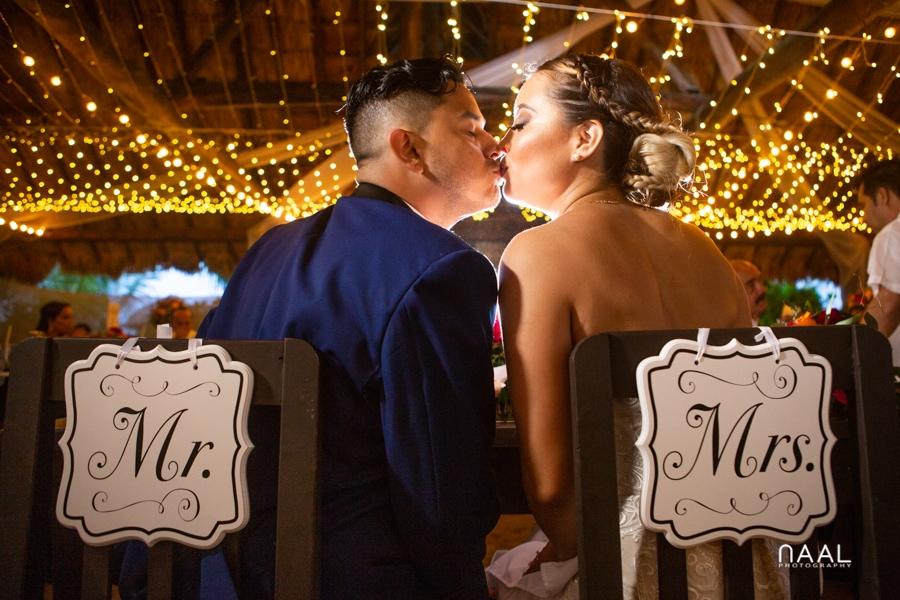 Blue Venado Beach Club beach wedding Naal Wedding Photography
