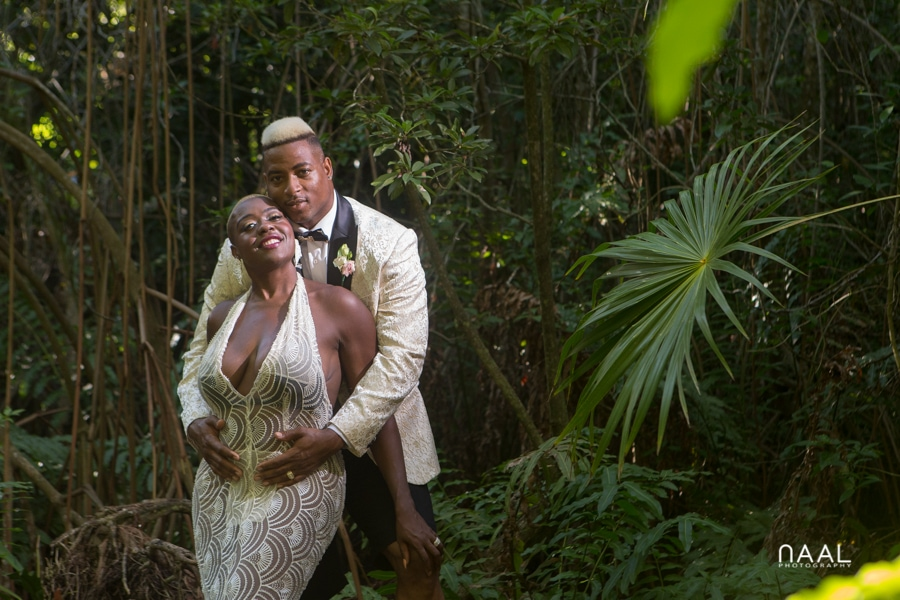 Eric & Cassandra -  - Naal Wedding cenote 28
