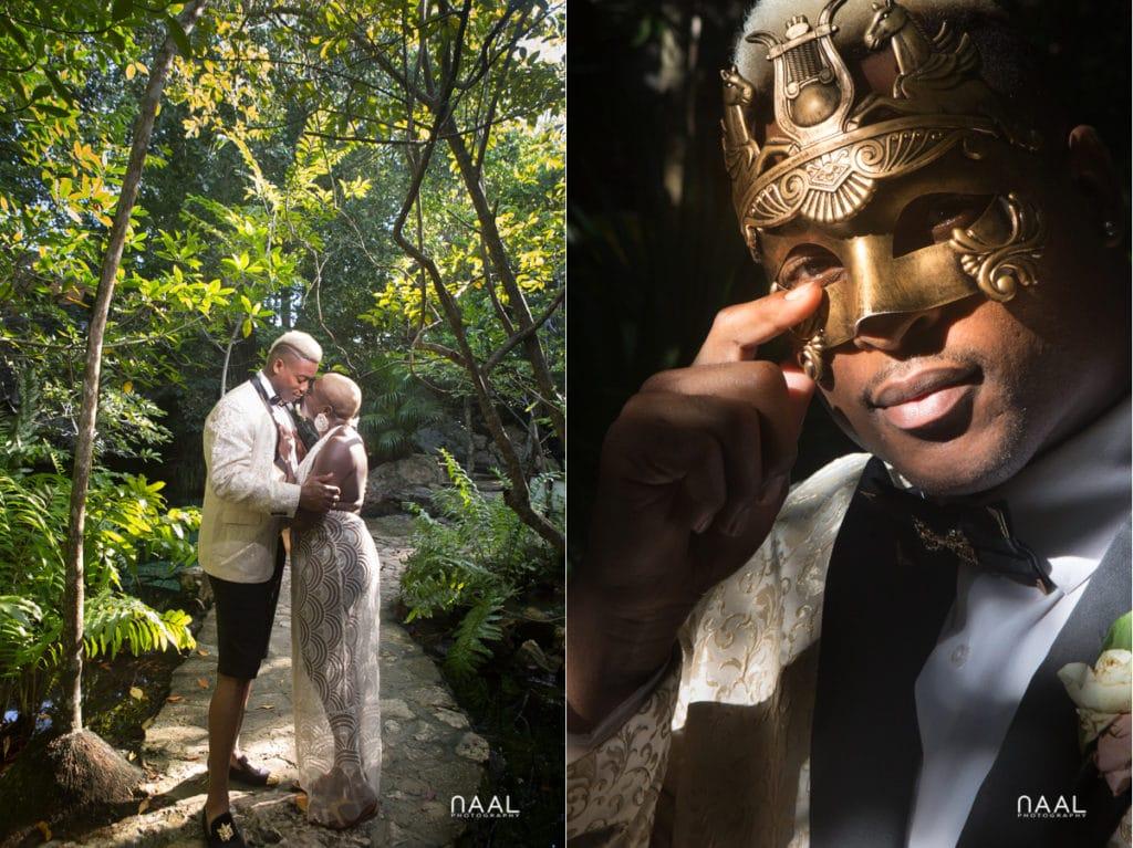 Eric & Cassandra -  - Naal Wedding cenote 33 copy 1024x767