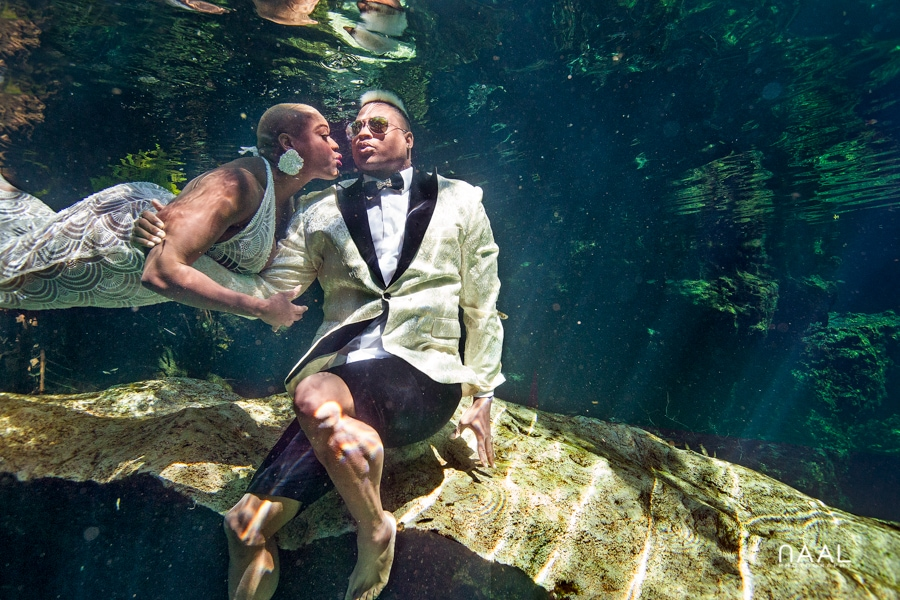 Eric & Cassandra -  - Naal Wedding cenote 72