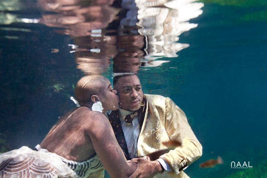Eric & Cassandra -  - Naal Wedding cenote 76